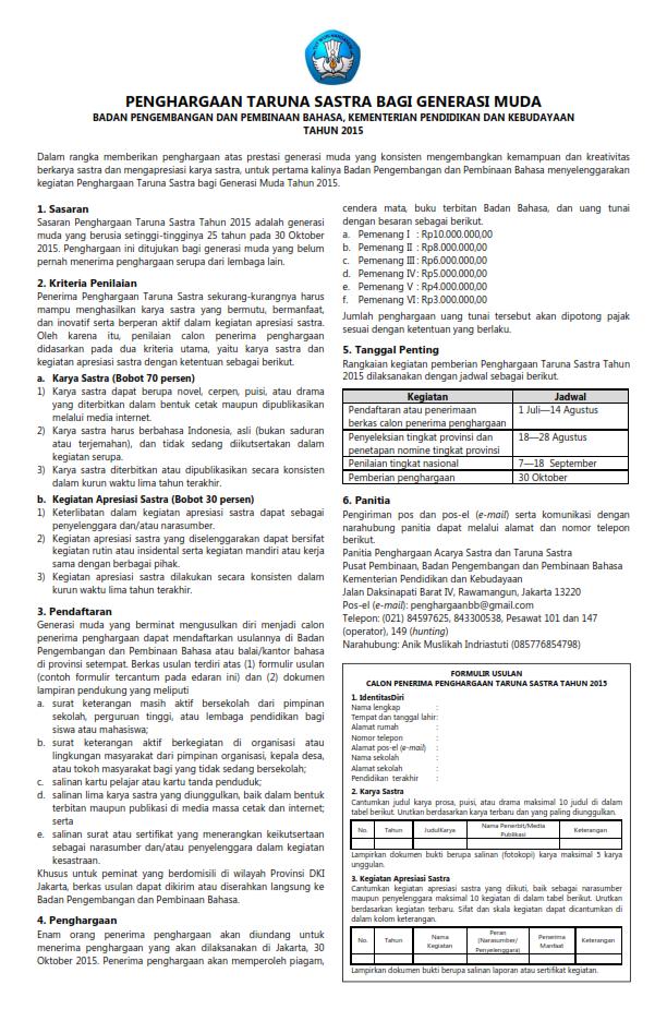 Edaran Informasi Taruna Sastra A4-Jakarta-_001